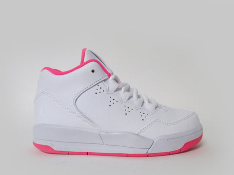 Air Jordan Flight Origin 2 (PS) Pre-School White/White-Hyper Pink 718076-100