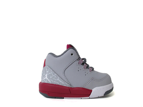 Air Jordan Flight Origin 2 (TD) Toddler Wlf Gry/White-Sprt Fchs-Cl Gry 724384-001