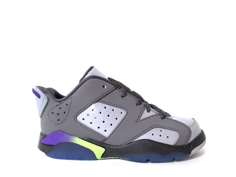 Air Jordan 6 Low (PS) Pre-School Drk Gry/Ultrvlt-Wlf Gry-Ghst G 768884-008