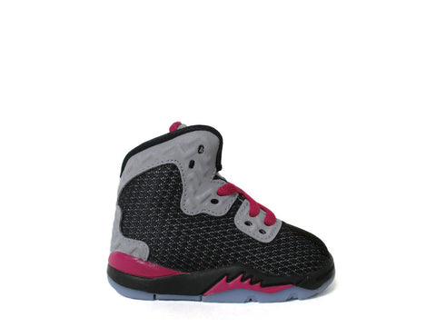 Air Jordan Spike Forty (TD) Toddler Blk/White-Rflct Slvr-Sprt Fchs 811123-009