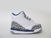 Air Jordan 3 Retro (TD) Toddler White/Fire Red-True Blue 832033-106