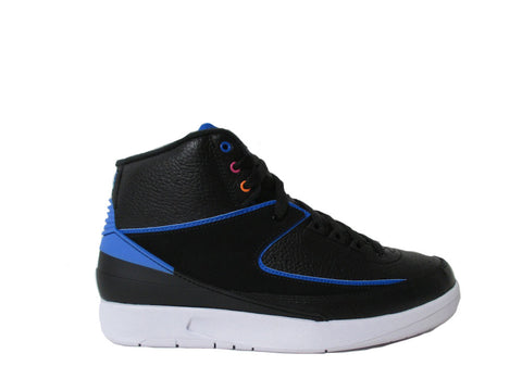 Air Jordan 2 II Radio Raheem Black Blue White Retro 834274-014