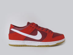 Nike SB Zoom Dunk Low Pro Track Red/White-Cedar 854866-616