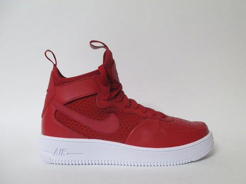 Nike Air Force 1 Ultraforce Mid Gym Red/Gym Red-White 864014-600