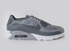 Nike Air Max 90 Ultra 2.0 Flyknit Pure Platinum/Cool Grey-White 875943-003