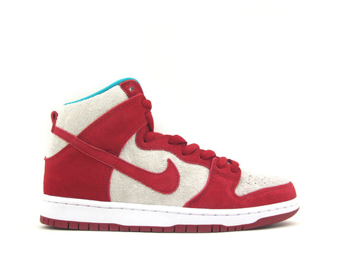 Nike SB Dunk High Pro Gym Red/Gym Red-White 305050-661