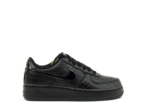 Nike WMNS Air Force 1 '07 PRM Black/Black-Metallic Silver 616725-002