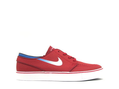 Nike SB Zoom Stefan Janoski L Gym Red/White-Military Blue 616490-614