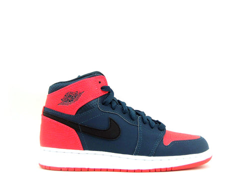 Air Jordan 1 Retro High BG (GS) Grade School Teal/Black-Infrared 23-White 705300-312