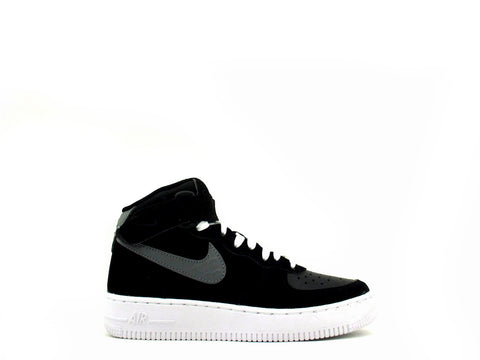 Nike Air Force 1 Mid (GS) Grade School Black/Cool Grey-White 314195-031
