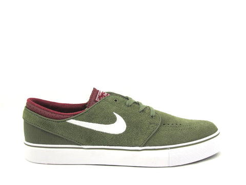 Nike SB Zoom Stefan Janoski Medium Olive/White-Tm Red-Blk 333824-216