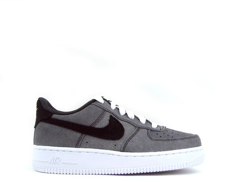 Nike Air Force 1 Low (GS) Grade School Black/Black-White-Anthracite 596728-047