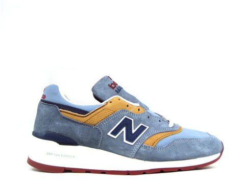 New Balance 997 Distinct Weekend Bag Made in USA Blue Gold Red M997DOL