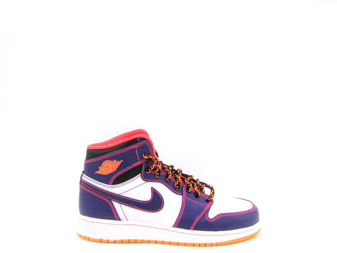 Air Jordan 1 Retro High BG (GS) Grade School Crt Prpl/Brght Crmsn-White-Brg 705300-507