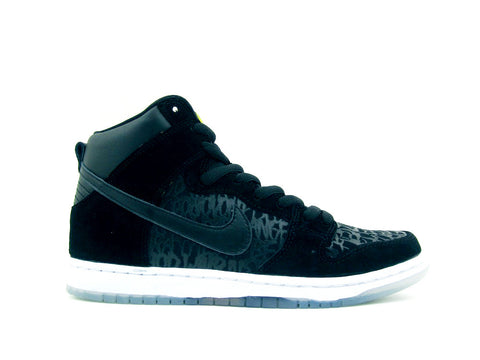 "Nike SB Dunk High Premium Black/Black ""NECKFACE CHRONICLES"" 313171-018"
