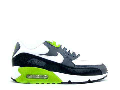 Nike Air Max 90 LTR White/White-Black-Fierce Green 652980-103