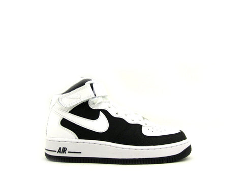 Nike Air Force 1 One Mid (GS) Grade School Black/White 314195-028