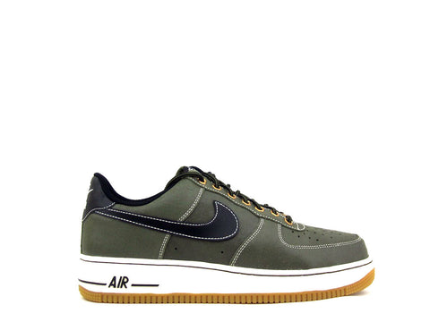 Nike Air Force 1 Low Mdm Olive/Blck-Sl-Gm Lght Brwn 488298-206