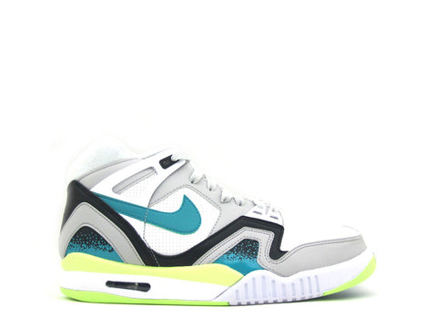 Nike Air Tech Challenge II White/Turbo Green-Ntrl Gry-Blk 318408-130