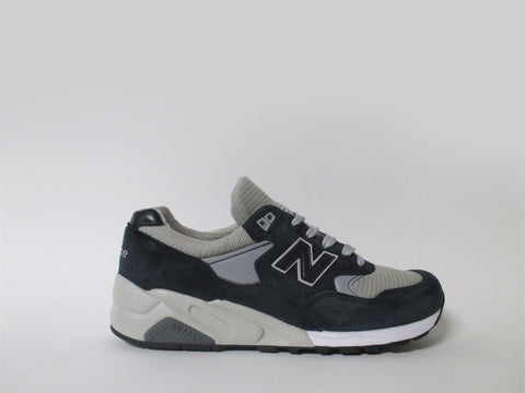 New Balance 585 Bringback Made in USA Navy Grey Blue M585BG