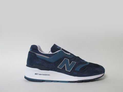 New Balance 997 Navy Blue White Silver MADE IN USA M997CEF