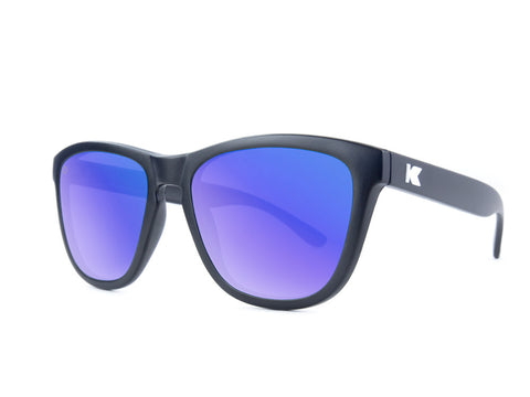 Knockaround Premiums Black/Polarized Moonshine
