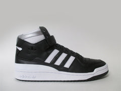 Adidas Forum Mid Refined Black White Silver Metallic B27665
