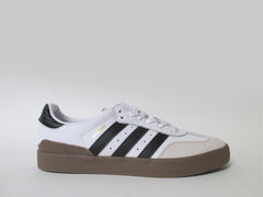 Adidas Busenitz Vulc Samba Edition White Black Gum Gold BB8449