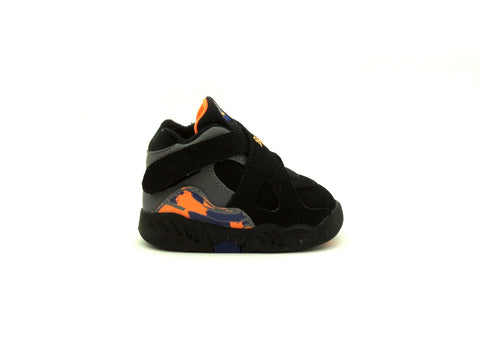 "Air Jordan 8 Retro VIII TD ""Toddler"" Blk/Bright Ctrs-Cl Gry-Dp Ryl B 305360-043"