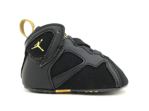 Air Jordan 7 Retro (CB) Crib Black/Metallic Gold-Sail 305076-030