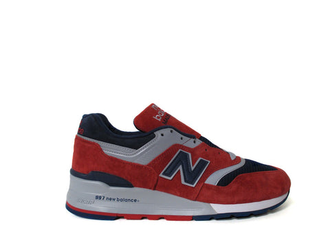 New Balance 997 Made in USA Ski Red Navy Grey White M997CSIY