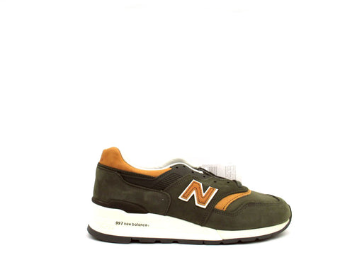 New Balance 997 Made in USA Distinct Pack Olive M997DCS