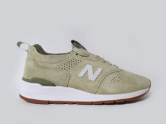 New Balance 997 Made in USA Sand Tan White Green M997DRA2
