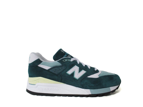 New Balance 998 Made in USA Explore By Sea Green White M998CSAM