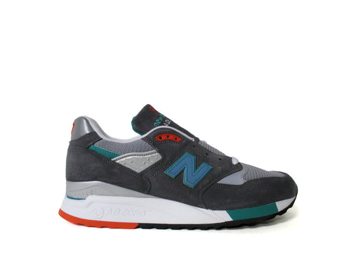 New Balance 998 Made in USA Ski Grey Teal White M998CSRR