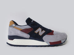 New Balance 998 Made In USA Desert Heat Navy Grey White M998CSU