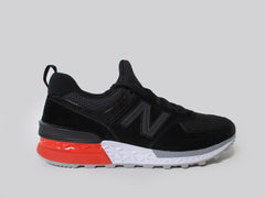 New Balance 574 Fresh Foam Black White Red Grey MS574AB