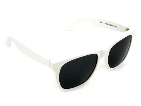 Super Sunglasses Basic Wayfarer White RetroSuperFuture 001