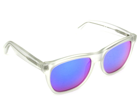 Super Sunglasses Basic Wayfarer Crystal Rainbow Lens RetroSuperFuture 168