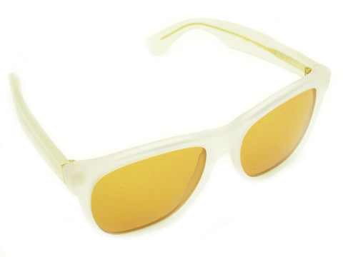 Super Sunglasses Basic Wayfarer Classic Matte Iced Opal RetroSuperFuture 888