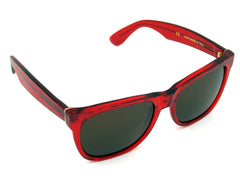 Super Sunglasses Basic Wayfarer Classic Trans Red RetroSuperFuture 896