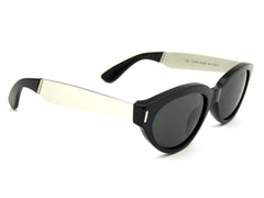 Super Sunglasses Drew Francis Black Silver RetroSuperFuture UEU
