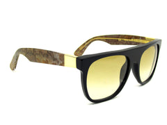 Super Sunglasses Flat Top Onice Rosso RetroSuperFuture VLL
