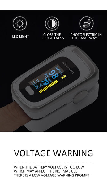 [MPEA00006] MEIPENG FDA finger clip oximeter finger pulse oxygen saturation monitor respiratory rate PI sleep monitoring