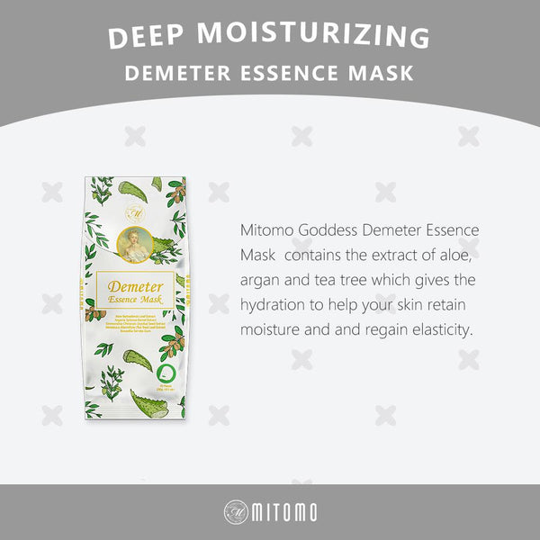 [MG101-C-150] MITOMO Goddess Demeter Essence Mask (10pcs/Unit)