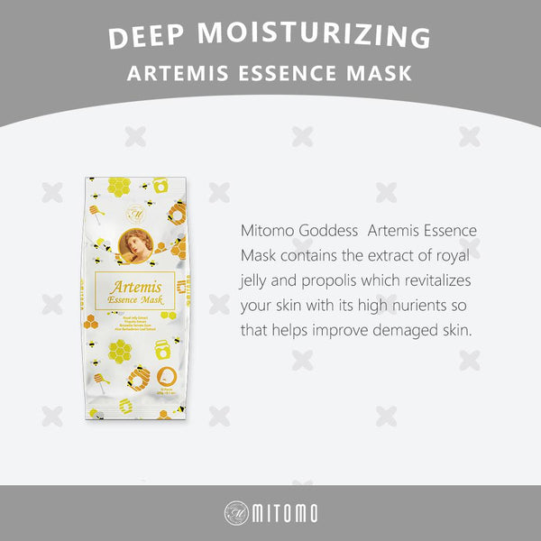 [MG101-E-150] MITOMO Goddess Artemis Essence Mask (10pcs/Unit)