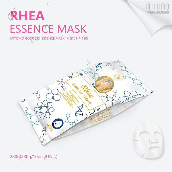 [MG101-F-150] MITOMO Goddess Rhea Essence Mask (10pcs/Unit)