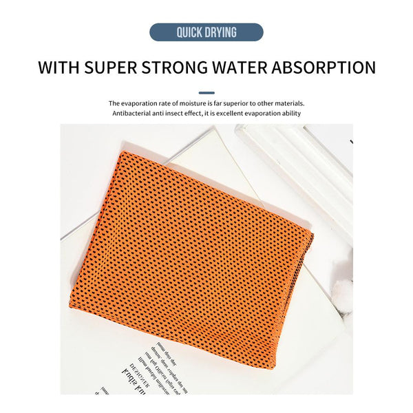 [MPFA00001]MEIPENG  Sports Towel Cool Feeling  Workout Exercise Sweat Wipe Towel