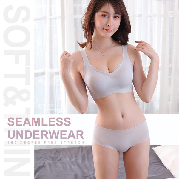 [MPFA00024] MEIPENG Breezies Seamless Comfort Wire free Bra