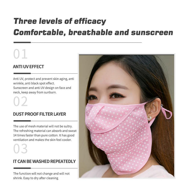 [MPHA00006] MEIPENG Women's UV Layered Mask-Sun Protective--2020 Korean Style summer Mask